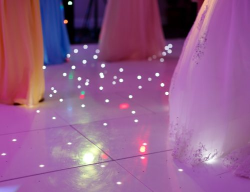 White LED Starlit Dance Floor Now Available To Hire