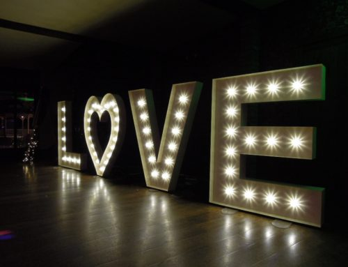 5ft Illuminated LOVE Letters Now Available To Hire
